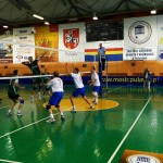 Chemists play volleyball/fot. tkkfchemik.pl