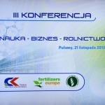 3rd Science - Business - Agriculture Conference